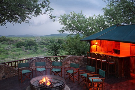 Mkuze Falls Tented Lodge Africa and