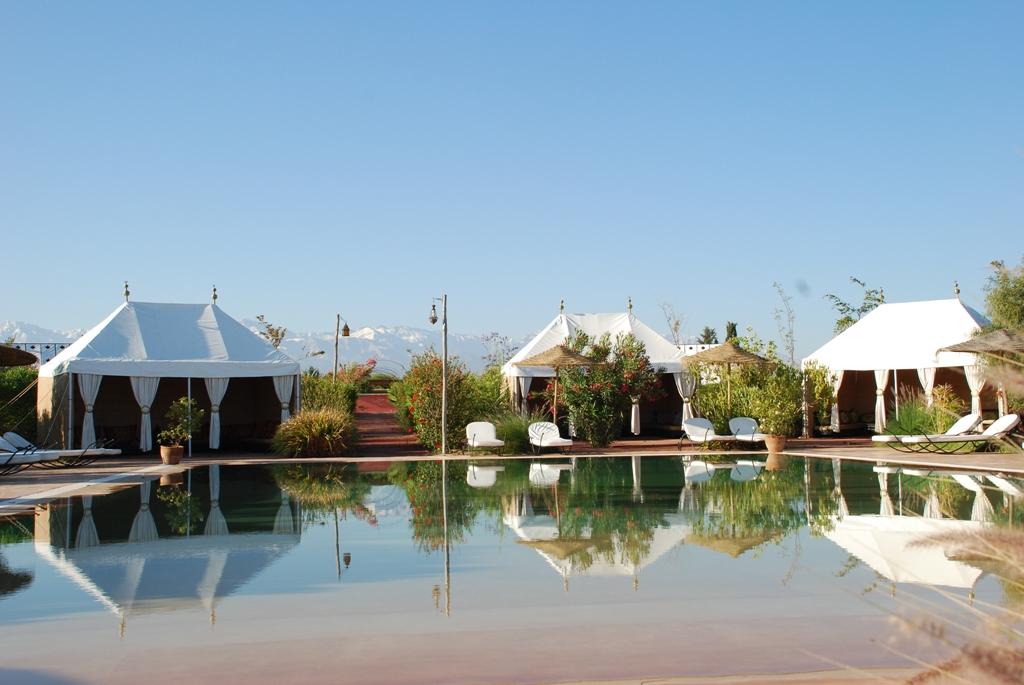 Jardin d 39 issil luxury tents marrakech morocco fleewinter for Restaurant jardin marrakech