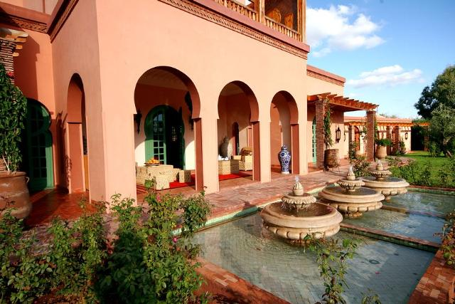 Villa Kobba Marrakech Rural Morocco Fleewinter