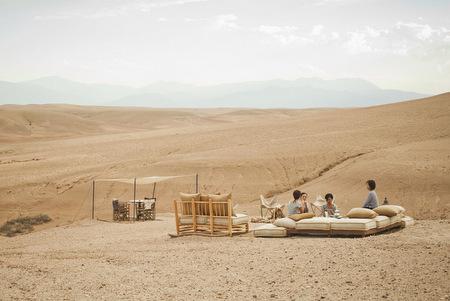 Scarabeo Camp Luxury Tents Agafay Desert Morocco