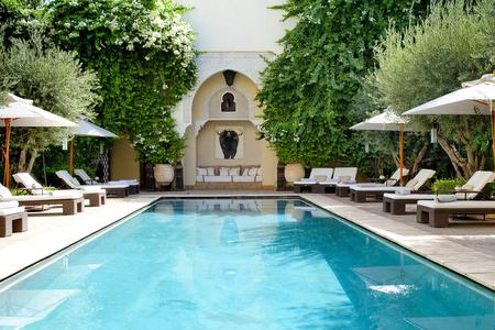 Villa des orangers luxury hotel marrakech morocco for La villa des orangers