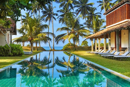 Offering Simplistic Luxury The Frangipani Tree Is A Relaxed Beach Front Hotel Just Fif Minutes From Historic Heritage City Of Galle Unesco World