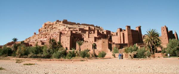 Moroccan Rock village