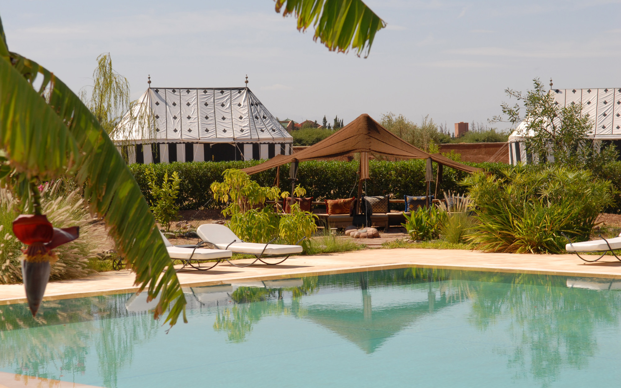 Luxury tents at Jardins d'Issil