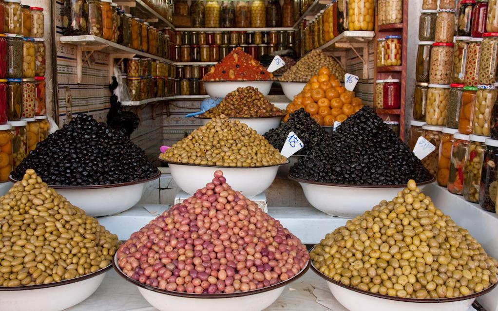 Essaouira Market Olives