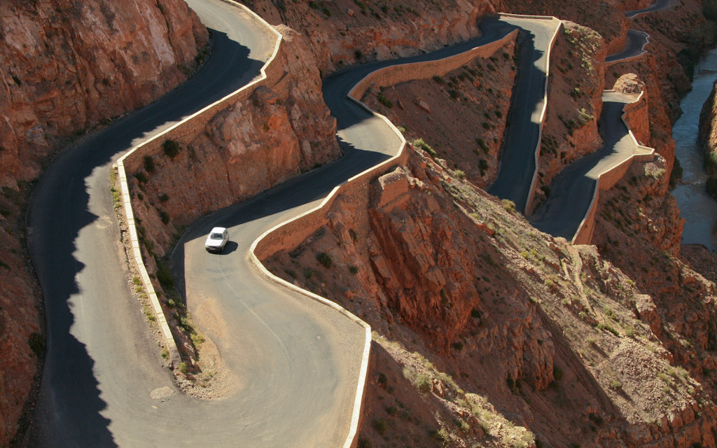 Dades Gorge Road