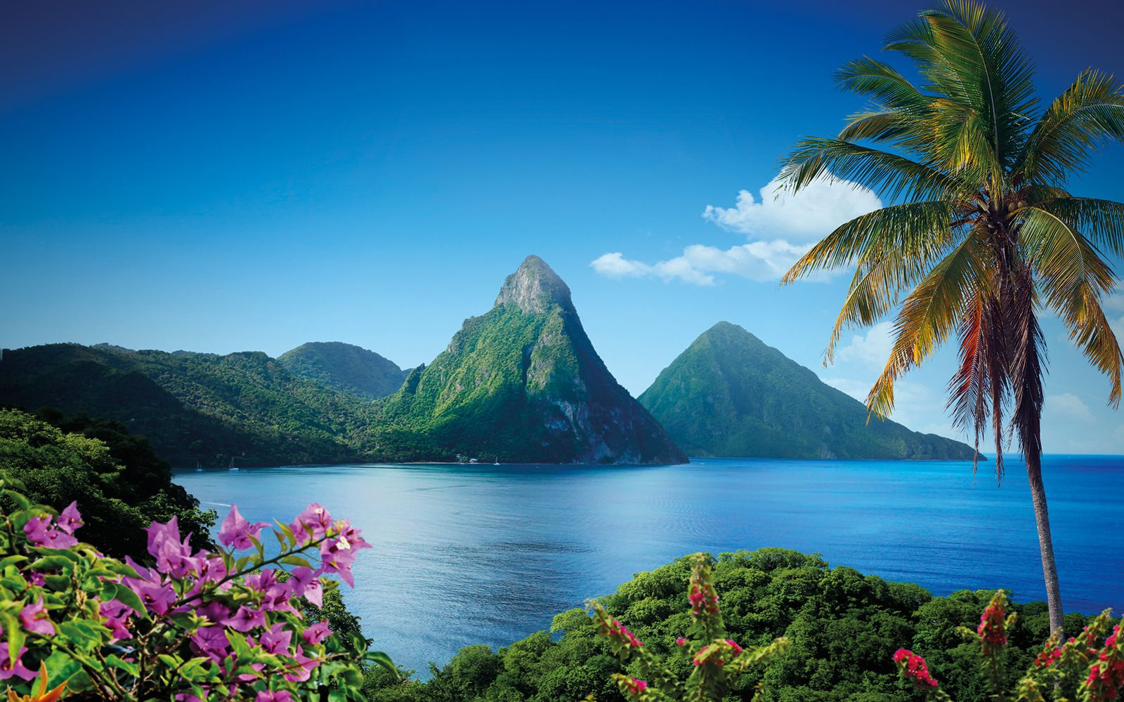 Caribbean Islands St Lucia Weather