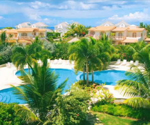 B305 Tennis Village, Two Bedroom Barbados Penthouse Apartment in Sugar Hill  Fleewinter