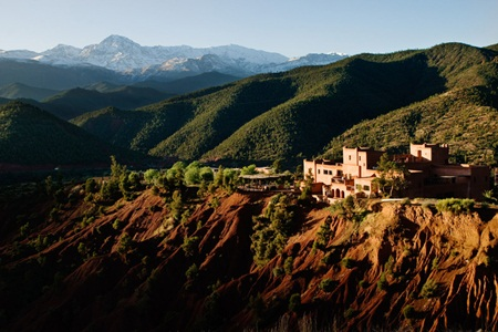 Kasbah Bab Ourika, Atlas Mountains