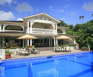 Villa Ashiana Marigot Bay 5 bed villa St Lucia |Fleewinter tailor-made holidays