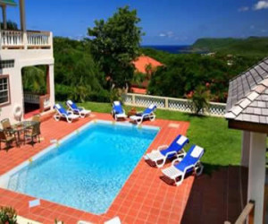 Villa Decaj Cap Estate 5 bed villa St Lucia |Fleewinter tailor-made holidays