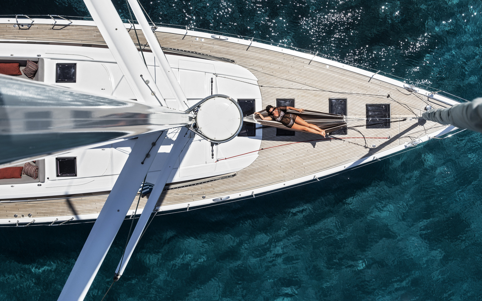 Super-yacht sailing holiday