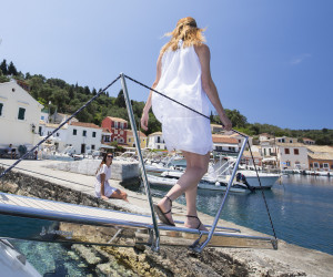 Stepping ashore on your Luxury Sailing holiday