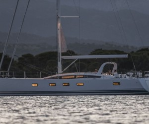 Argentous at anchor