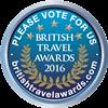 BRITISH TRAVEL AWARDS 2016