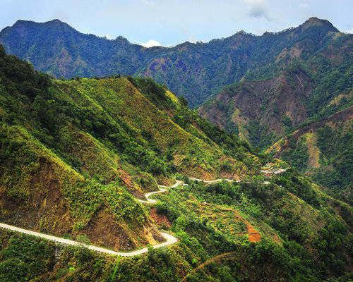 Cordillera-road