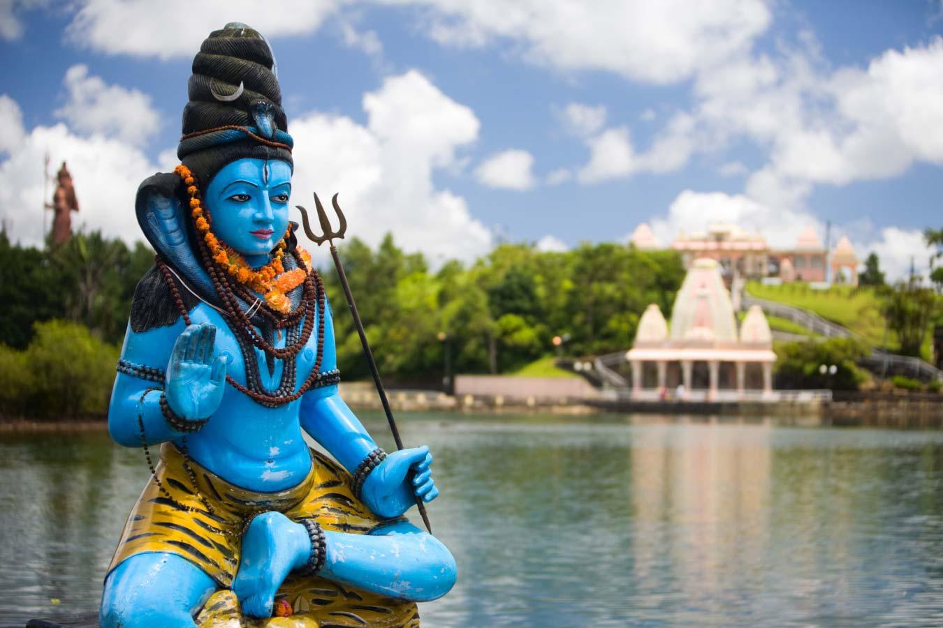 Mauritius Grand Bassin Lord Shiva