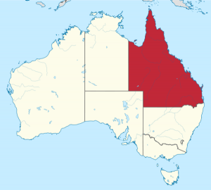 Queensland Map Australia