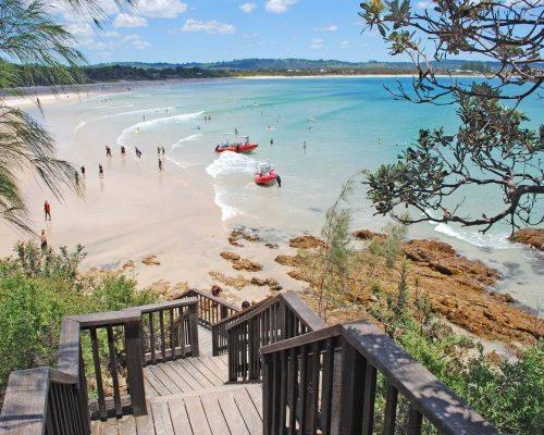 Byron Bay Beach New South Wales Australia