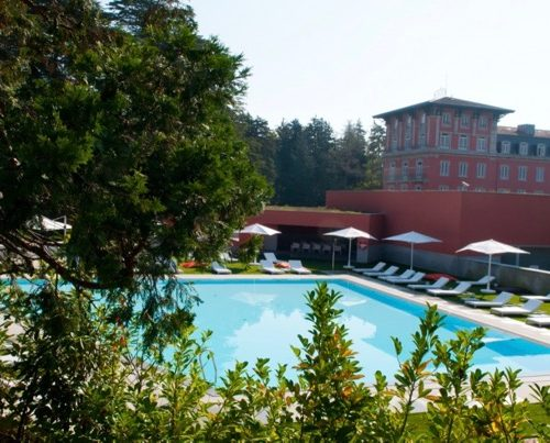 Vidago palace outdoor pool