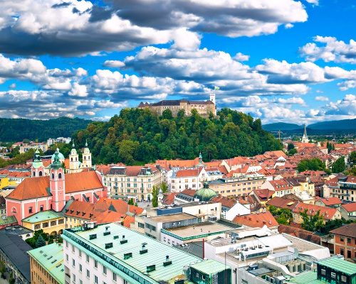 Highlights of Slovenia. Ljubljana