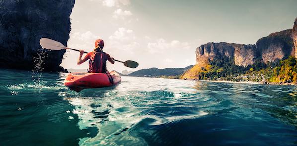 Kayaking Krabi