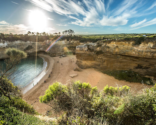 The Loch Ard Gorge, Great Ocean Road, VIC