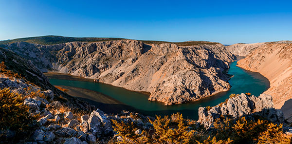 Zrmanja Canyon Velebit National Park