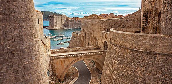 Iconic Dubrovnik City Walls