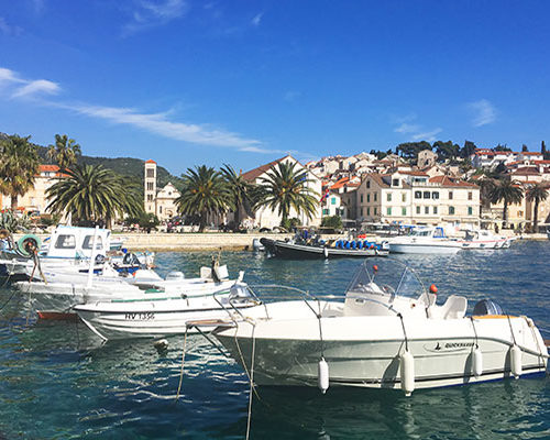Hvar Old Town Port
