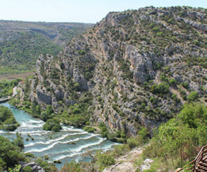 Hiking Krka River