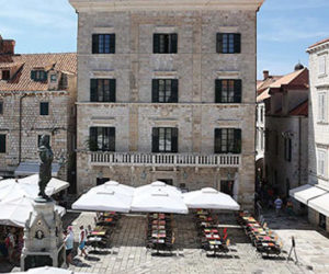 The Pucic Palace in Dubrovnik Old Town