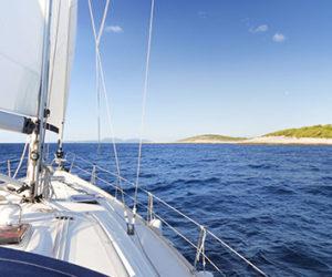 Sailing in kornati islands