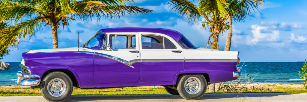 Cuba holidays, vintage Cadillac, beautiful beaches, fascinating culture